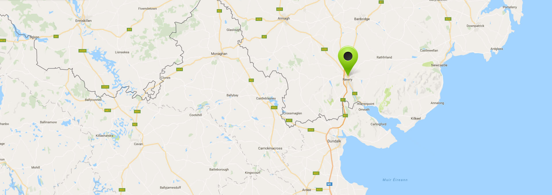 Our location in Newry